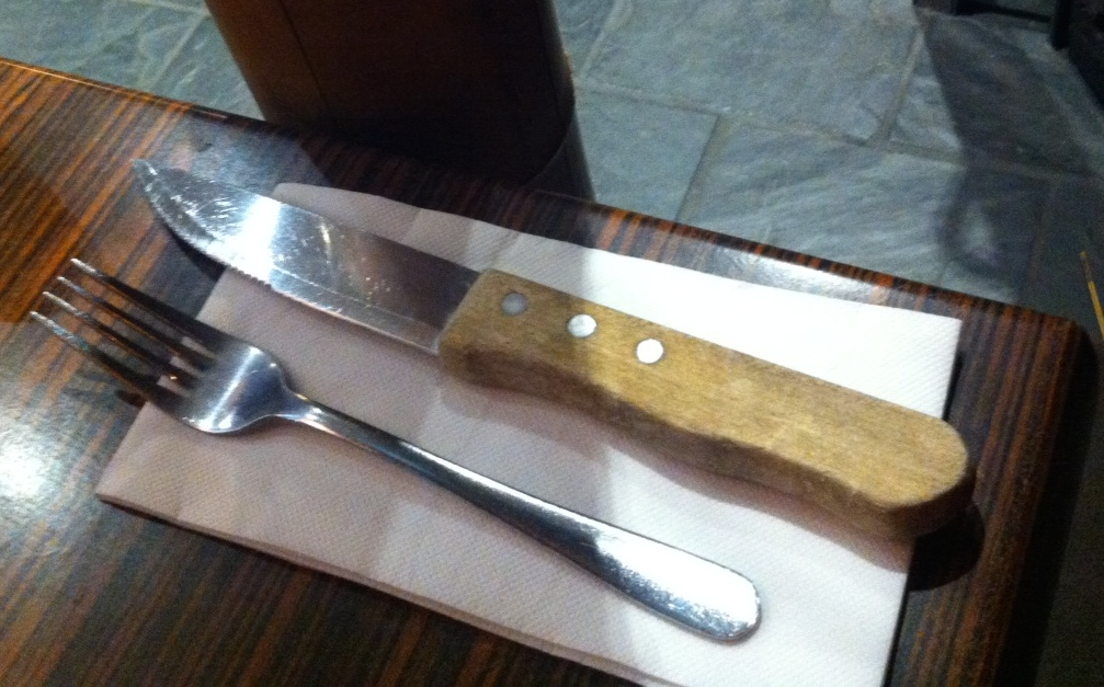 That's not a knife...