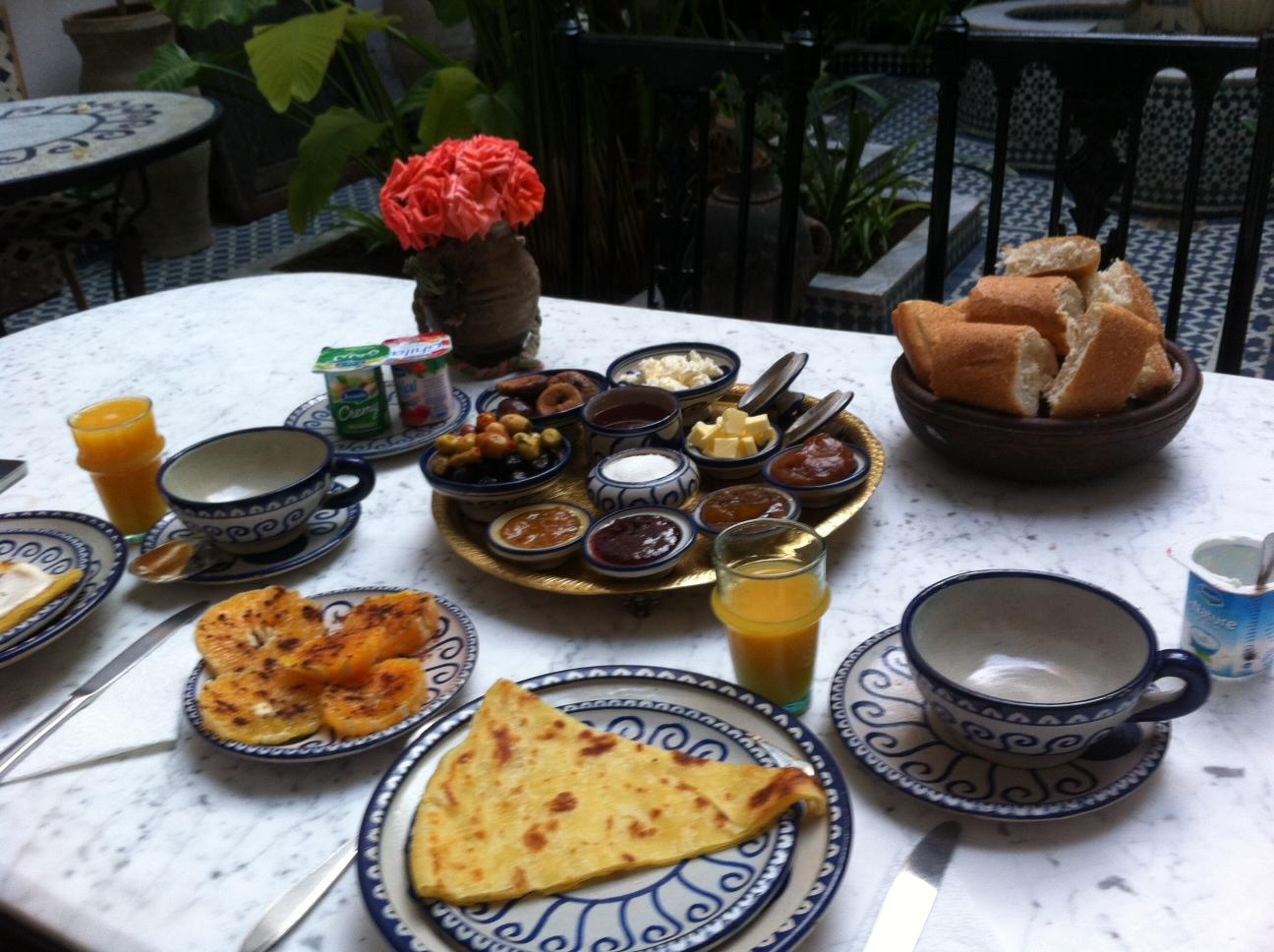 Breakfast in Fez